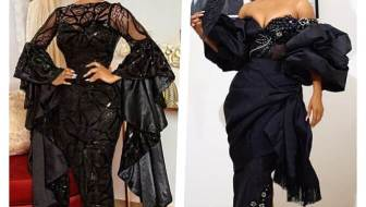 Celebrity Wedding Guest Styles: 16 Times Toke Makinwa Gave Us Serious Asoebi Style Envy