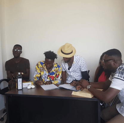 Ghanaian record label signs new artist with Schnapps and eggs lailasnews 1