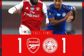 Arsenal vs Leicester 1-1 Download