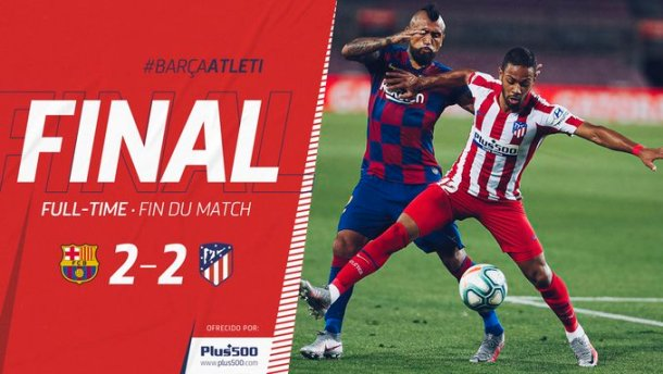 Barcelona vs Atletico Madrid 2-2 Download