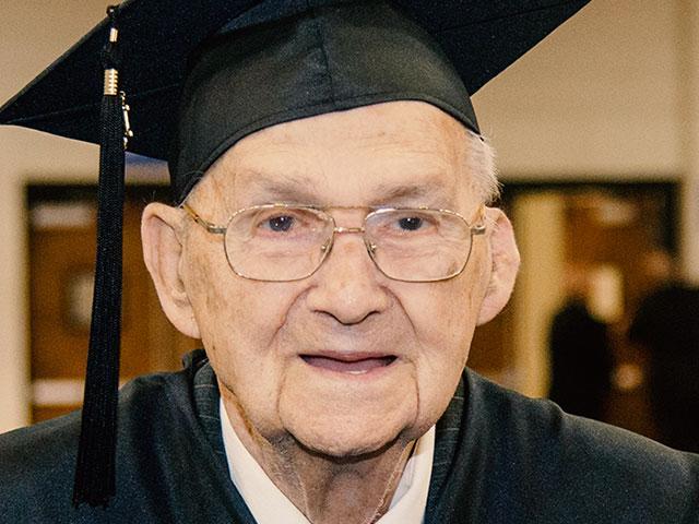 88 year old graduates