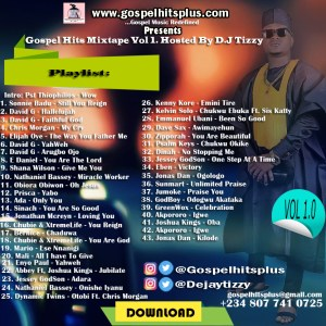 Gospel Hits Mixtape volume 1 - Naija Gospel Radio May 2017  Download