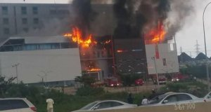 House on the Rock Abuja in Flames
