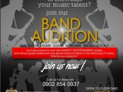 Honesty Entertainment - Band Audition