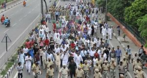 Christians Protest Shooting of Pastor in India