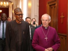 Buhari and Archbishop Welby