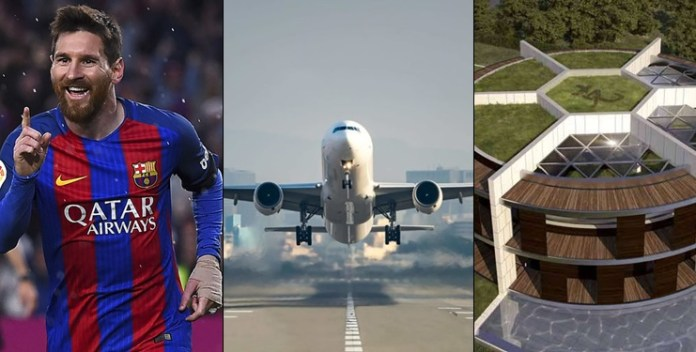 Why Airplanes Can't Fly Over Lionel Messi's House