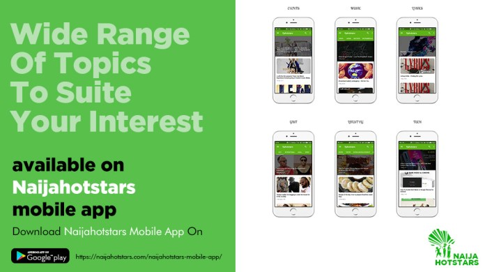 Naijahotstars App