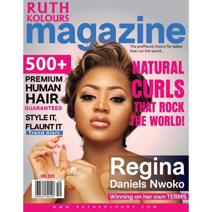 Regina Daniels On Ruth Kolours magazine