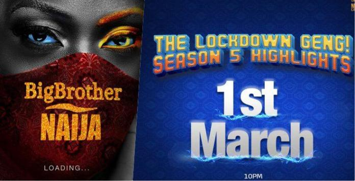 BBNaija organizers announces Lockdown highlight (Video)