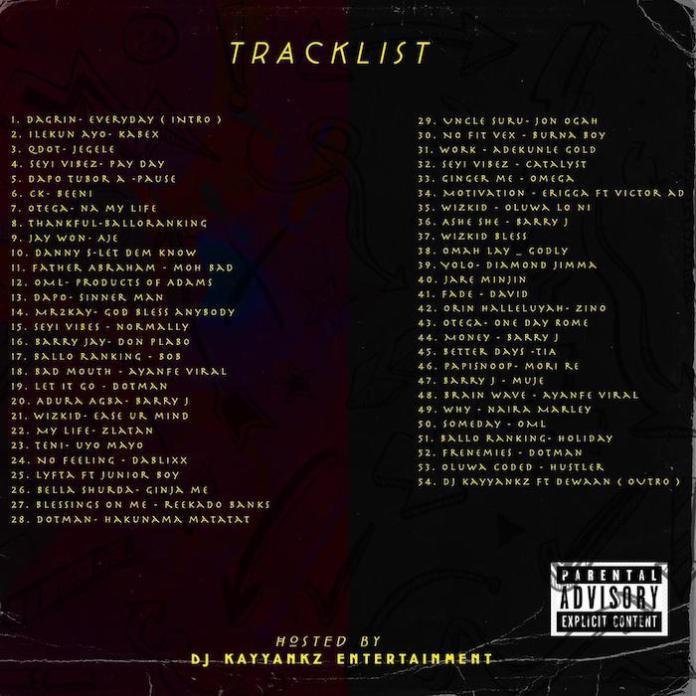 DJ Kayyankz – Hustlers Anthem Vol.1 tracklist