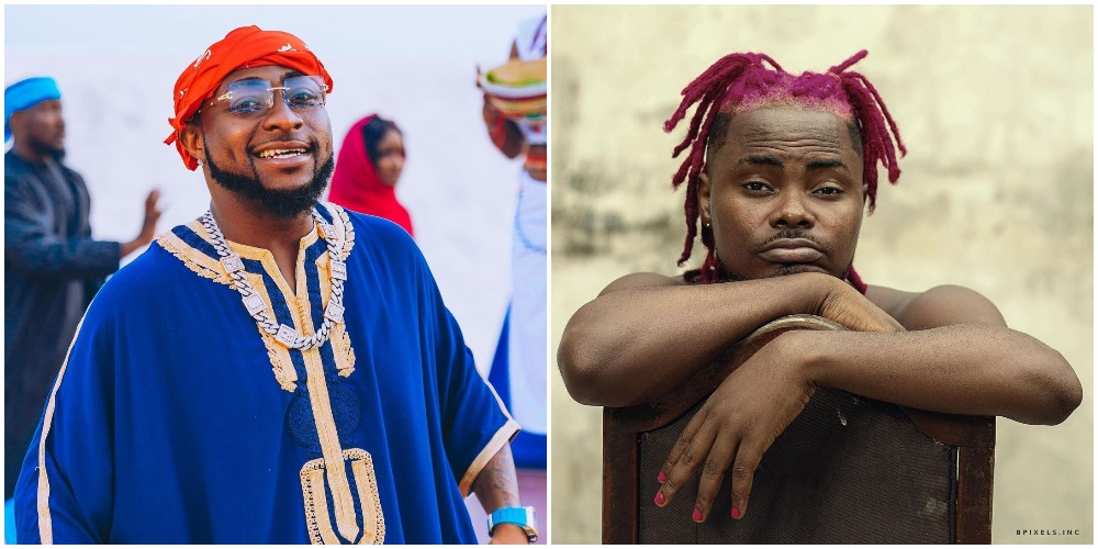 Rapper Oladips and Davido