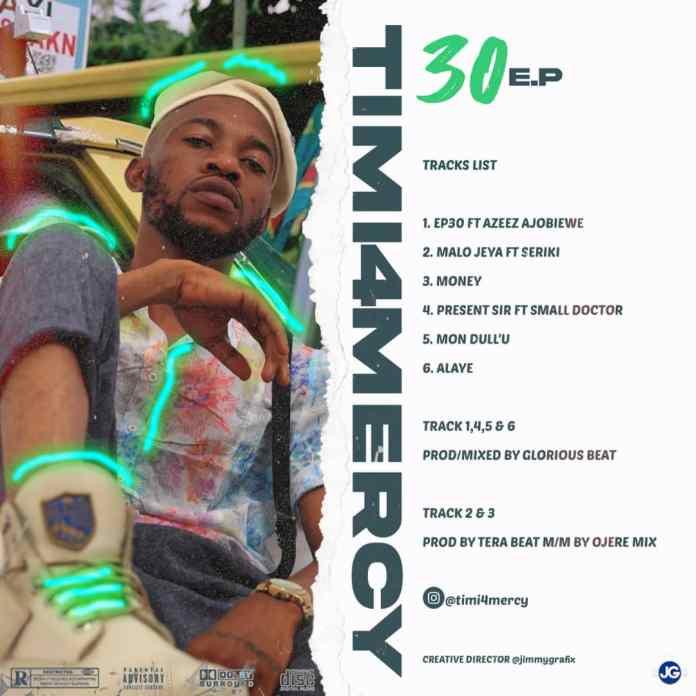 Timi4mercy - 30 EP Tracklist