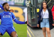 Actress, Nkechi Nnaji and footballer, Kelechi Iheanacho allegedly back as lovers after breakup 4 years ago