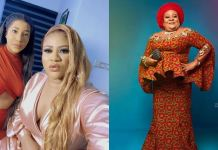 """""""May death knock on your household"""" – Actress, Nkechi Blessing's sister, Ijeoma slams people 'laughing' over mother's death"""