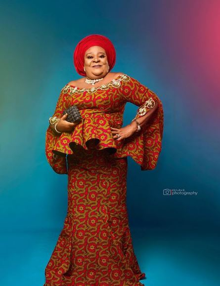 Nkechi Blessing mother