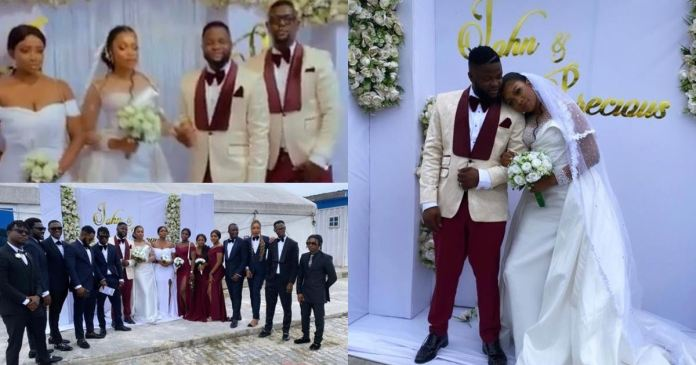 Singer, Skales ties the knot with girlfriend (Video)
