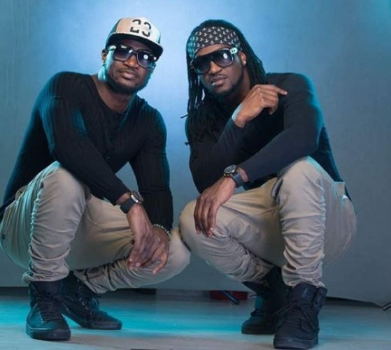 Psquare -Peter (Mr P) and Paul Okoye (Rude Boy)