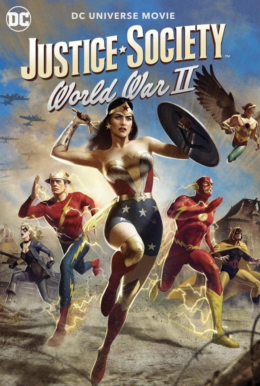 Movie Justice Society: World War II (2021)