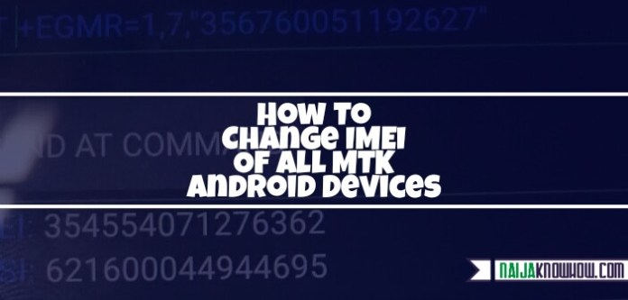 how to change your imei