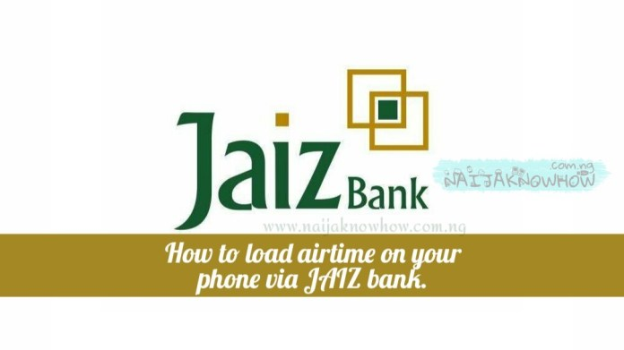 How To Load Airtime On Your Phone Via Jaiz Bank | JAIZ Credit Recharge USSD