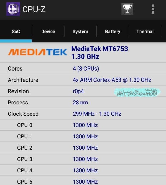CPU-Z | How To Know If Your Phone Is MTK Or Qualcomm
