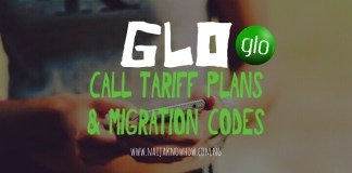 CHEAPEST GLO CALL TARIFF PLANS AND MIGRATION CODES IN NIGERIA
