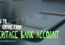 Heritage Bank Airtime Recharge Code