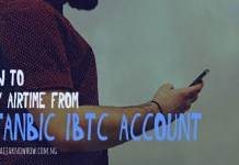 Stanbic IBTC Bank Airtime Recharge Code