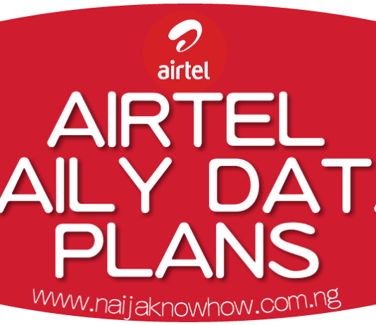 CHEAP AIRTEL DAILY DATA PLAN AND SUBSCRIPTION CODES