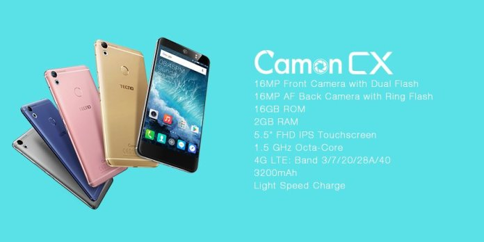 TECNO Camon CX – Key Specs