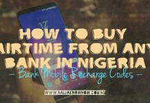 All Bank Airtime Recharge Codes In Nigeria
