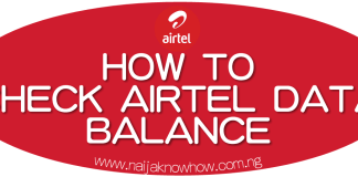 How To Check Airtel Data Balance on Android, Blackberry, iPhone etc