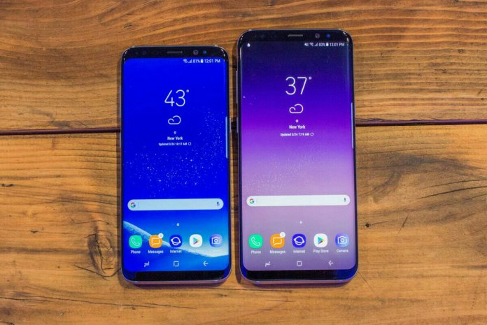 Samsung Galaxy S8 and S8 plus price in Nigeria