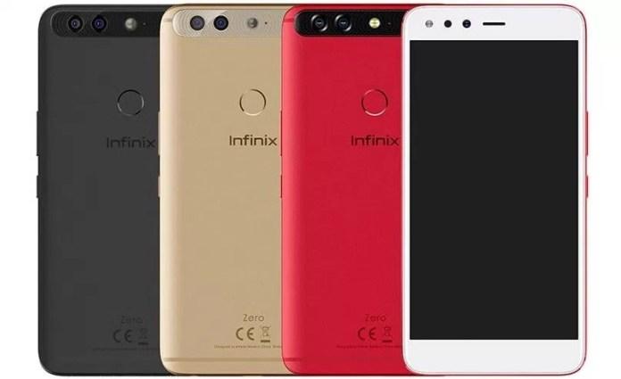Infinix Zero 5 Colour Variants