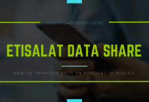 how to share data on etisalat in nigeria