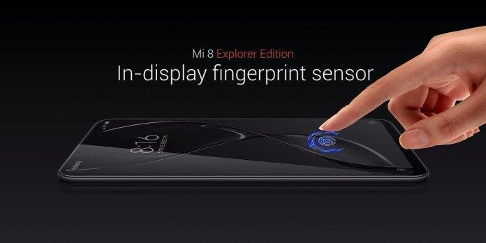 Xiaomi Mi 8 Explorer Edition EE