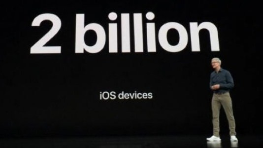 Apple Delivers Nearly 2 Billion iOS Devices