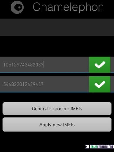Change IMEI on Marshmallow 6.0 via Chamelephon