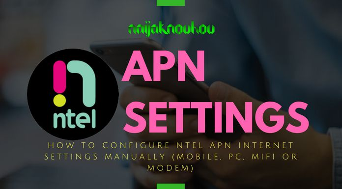 How To Configure Ntel APN Settings (Access Point Names