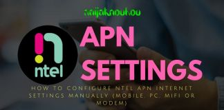 NTEL APN SETTINGS (ACCESS POINT NETWORK)