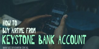 Keystone Bank Airtime Recharge Code