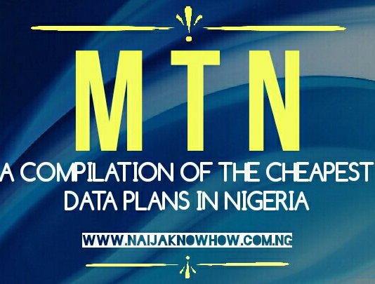 MTN Data Plans: List of the best MTN data plans in Nigeria