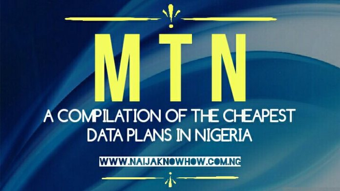 MTN Data Plans: List of the best MTN data plans in Nigeria