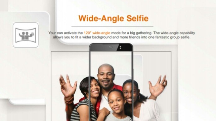 TECNO Camon CX –Wide Angle Selfie Camera