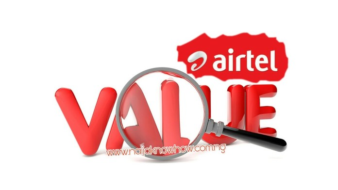 Airtel Value plan and migration code