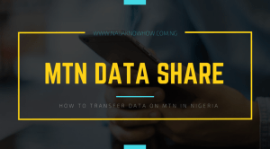 How To Share Data On MTN (Data Transfer Code) ⋆ Naijaknowhow