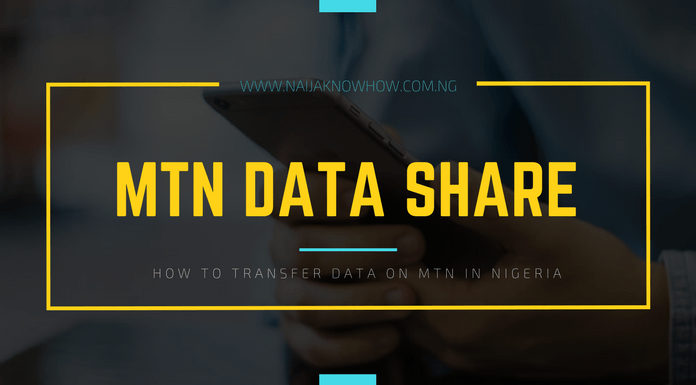 how to share data on mtn in nigeria