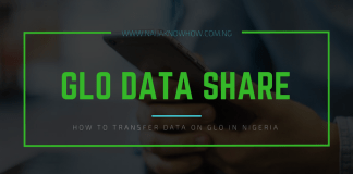 how to share data on glo in nigeria
