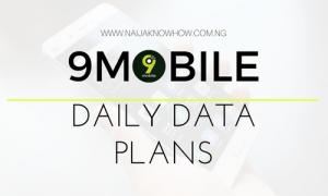 9Mobile (Etisalat) Daily Data Plan & Subscription Codes ⋆ Naijaknowhow